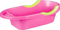 Ванночка детская Альтернатива Малышок люкс / М4408 (розовый) -