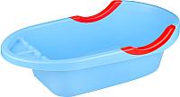 Ванночка детская Альтернатива Малышок люкс / М4409 (синий) -