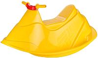Качалка детская Альтернатива Гидроцикл / М6532 (желтый) -