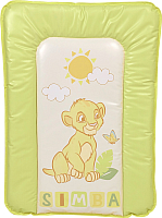 Доска пеленальная Polini Kids Disney baby Король Лев 70x50 (салатовый) -