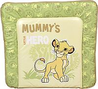 Доска пеленальная Polini Kids Disney baby Король Лев 77x72 (салатовый) -