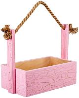 Ящик для хранения Белэкспоформ 1881 (розовый) -
