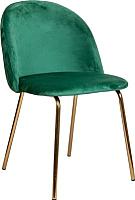 Стул Седия Prado (зеленый велюр HLR-56/золото) -