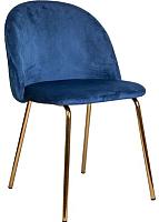 Стул Седия Prado (синий велюр HLR-64/золото) -