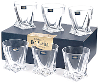 Набор стаканов Bohemia Crystalite Quadro 20936/99A44/340 (6шт) -