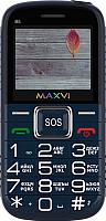 Мобильный телефон Maxvi B5 (синий) -