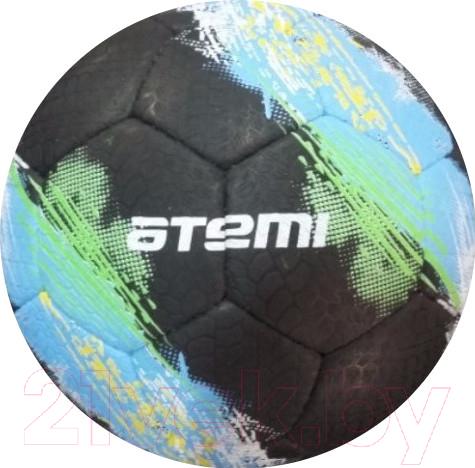 Купить Футбольный мяч Atemi, Galaxy (размер 5, черный), Китай