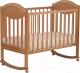Детская кроватка Лель Камелия АБ 23.0 (натуральный) -
