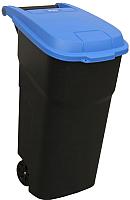 Контейнер для мусора Merida KJC302 (черный с синей крышкой) -