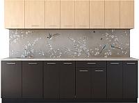 Готовая кухня Артём-Мебель Лана СН -113 ДСП 2.6м (береза/венге Мария) -