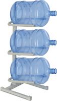 Стойка для бутылей Ecotronic Под 3 бутыли (белый) -