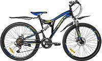 Велосипед Arena Flame 2020 / 26SU18SH21 (17, черный/синий) -