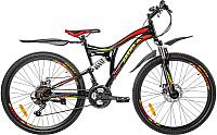 Велосипед Arena Flame 2020 / 26SU18SH21 (17, черный/красный) -
