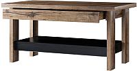 Журнальный столик Anrex Jagger (дуб монастырский/черный) -
