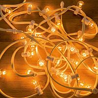 Светодиодная гирлянда Neon-Night LED Galaxy Bulb String 331-301 (10м, желтый) -