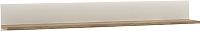 Полка Anrex Linate Typ 60 (белый/сонома трюфель) -