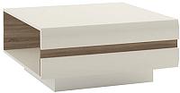 Журнальный столик Anrex Linate Typ 70 (белый/сонома трюфель) -
