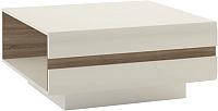 Журнальный столик Anrex Linate Typ 71 (белый/сонома трюфель) -