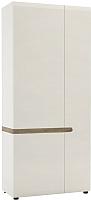Шкаф Anrex Linate 2D/Typ 20A (белый/сонома трюфель) -