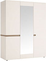 Шкаф Anrex Linate 3D/Typ 22A (белый/сонома трюфель) -