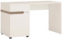 Письменный стол Anrex Linate Typ 80 (белый/сонома трюфель) -