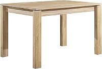 Обеденный стол Stanles Прованс 04 80x80 (отбеленный дуб) -