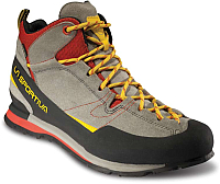 Трекинговые кроссовки La Sportiva Boulder X MID GTX 17E900304 (39, карбон/пламя) -