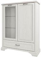 Шкаф с витриной Anrex Monako 1V1D1SL (сосна винтаж/дуб анкона) -