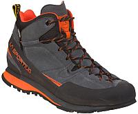 Трекинговые кроссовки La Sportiva Boulder X MID GTX 17EGR (р-р 45, серый/красный) -