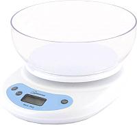 Кухонные весы HomeStar HS-3001 (белый) -