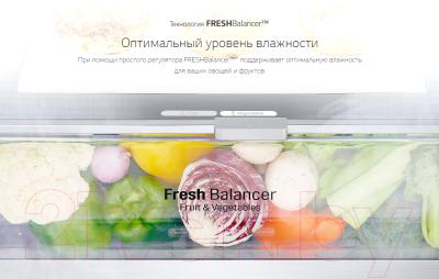 Холодильник с морозильником LG GA-B459MMDZ