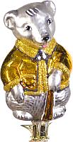 Елочная игрушка Грай Мышь на прищепке Ф-77 -