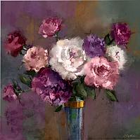 Картина Orlix Фиолетовые цветы в вазе / CA-12526 -