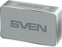 Портативная колонка Sven PS-85 (серебристый) -