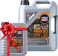 Моторное масло Liqui Moly Top Тес 4200 5W30 / 8973+8972 (5л+1л) -