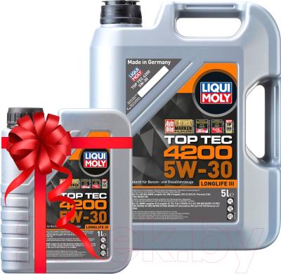 Моторное масло Liqui Moly Top Тес 4200 5W30 / 8973+8972 (5л+1л)