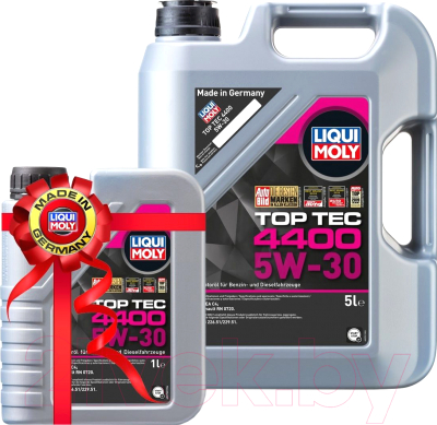Моторное масло Liqui Moly Top Тес 4400 5W30 / 2322+2319 (5л+1л)