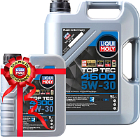 Моторное масло Liqui Moly Top Тес 4600 5W30 / 2316+2315 (5л+1л) -