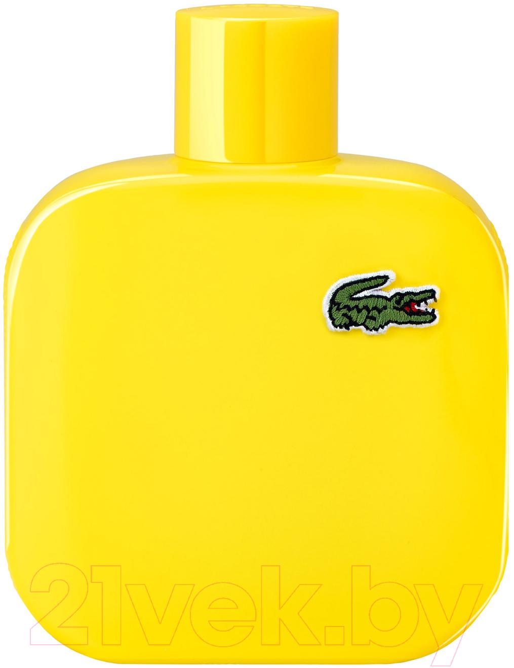 Купить Туалетная вода Lacoste, Eau de Lacoste Yellow L.12.12 Jaune (100мл), Швейцария, L.12.12 (Lacoste)