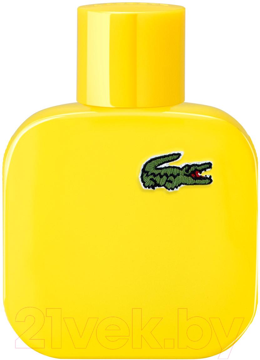 Купить Туалетная вода Lacoste, Eau de Lacoste Yellow L.12.12 Jaune (50мл), Швейцария, L.12.12 (Lacoste)