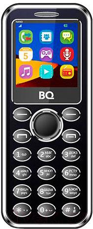Купить Мобильный телефон BQ, Nano BQ-1411 (черный), Китай