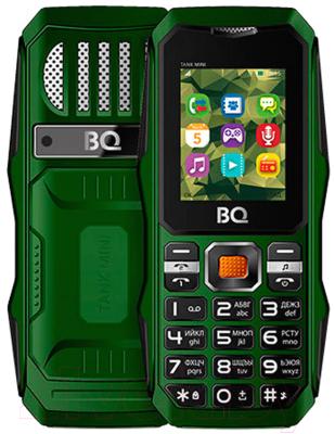 Мобильный телефон BQ Tank mini BQ-1842 (темно-зеленый)