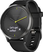Умные часы Garmin Vivomove HR Sport / 010-01850-21 (L, черный) -
