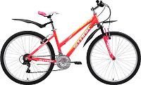 Велосипед STARK Luna 26.1 V 2018 (18, розовый/желтый/белый) -