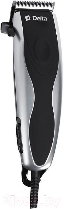 Машинка для стрижки волос Delta, DL-4050 (серебристый), Россия  - купить со скидкой
