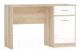 Письменный стол Империал Стелс 120 / 1д1ящ (дуб сонома/белый) -
