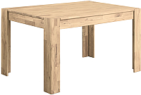 Обеденный стол Stanles Прованс 06 140x90 (отбеленный дуб) -