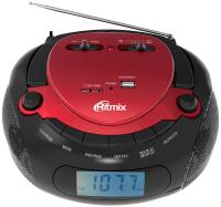Магнитола Ritmix RBB-300BT (красный/черный) -