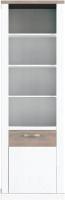 Шкаф-пенал Anrex Provans 1D (вудлайн кремовый/дуб кантри) -