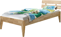 Каркас кровати Stanles Эльке 90x200 (отбеленный дуб) -